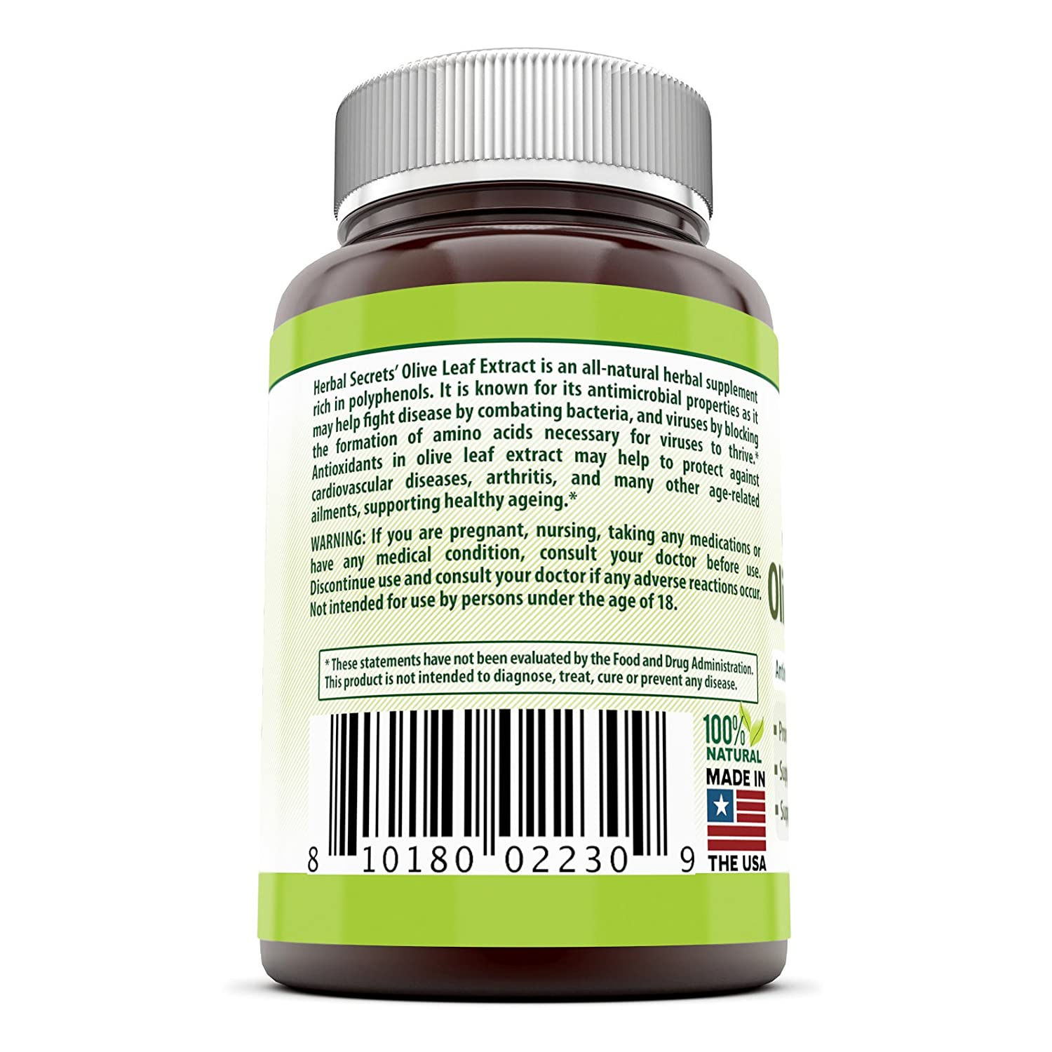 Olive Garden Kitchen Secrets Amazoncom Herbal Secrets Olive Leaf Extract 150 Mg 120 Caps