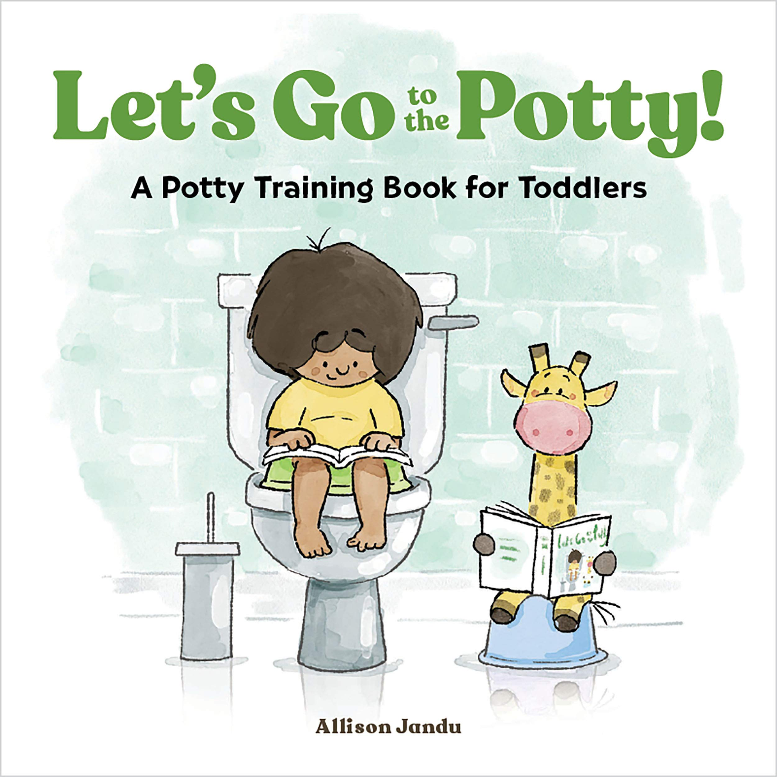 Let's Go to the Potty!: A Potty Training Book for Toddlers: Jandu, Allison:  9781646119936: Books - Amazon.ca