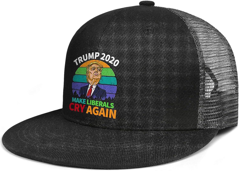 Mens Snapback Hat Baseball Caps Cool Hat JDHASA Trump-2020-IF-YOU-LIKE