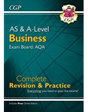 A-Level Business: AQA Year 1 & 2 Complete Revision & Practice (CGP A-Level Business)