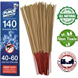 "Punch Mosquito Repellent Sticks 15"" Insect Citronella Lemongrass 