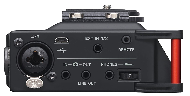 Tascam Dr 70d 4 Channel Portable Recorder Musical Audio Mixer Circuit Instruments