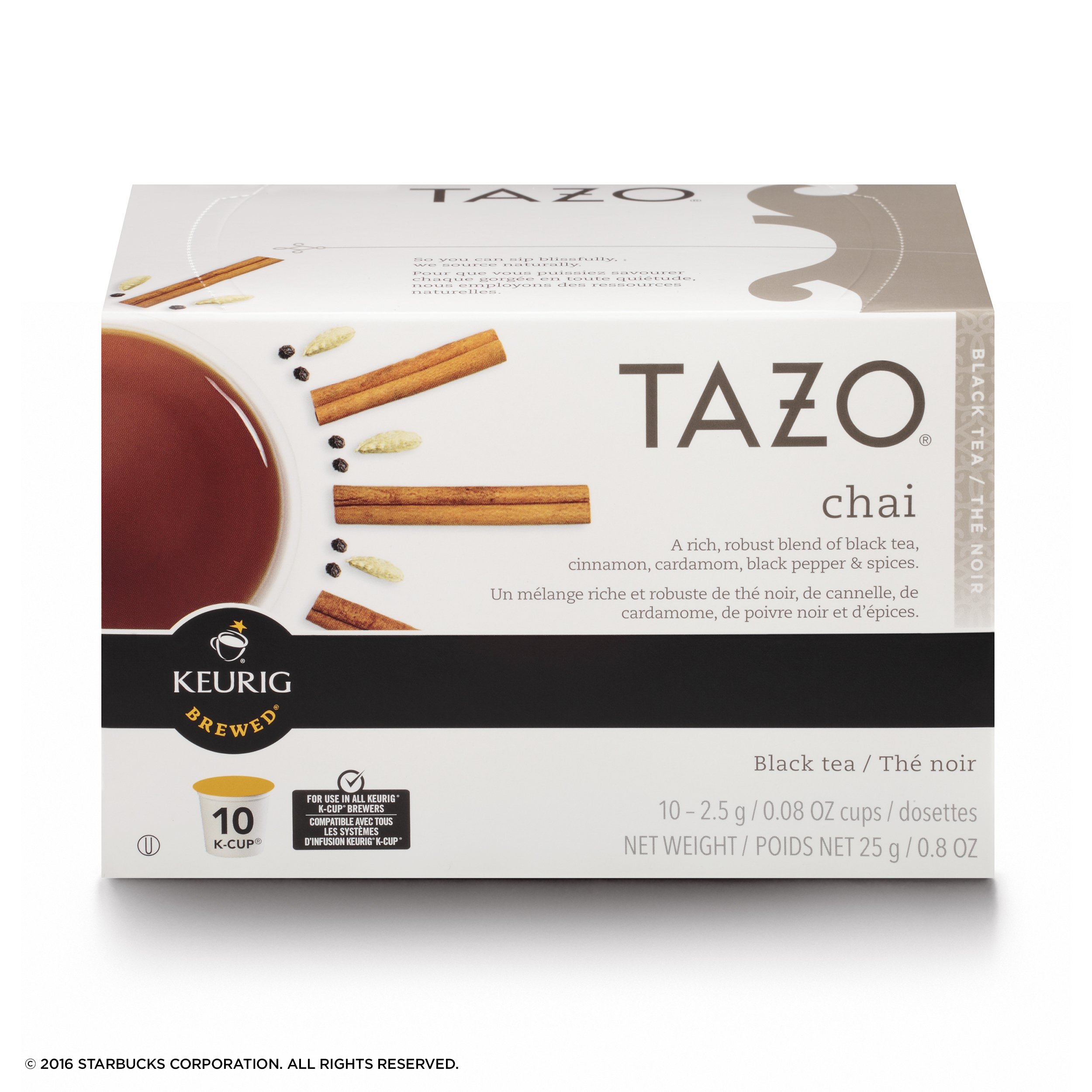 Tazo Chai Black Tea K-Cup, 10 ct (Pack of 6) by TAZO (Image #2)