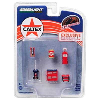 GreenLight 1: 64 Hobby Exclusive - Caltex Shop Tools: Toys & Games