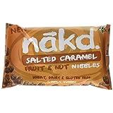 Nakd Salted Caramel Nibbles 40 g (Pack of 18)