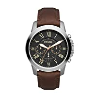 Men's Grant Stainless Steel Chronograph Quartz Watch