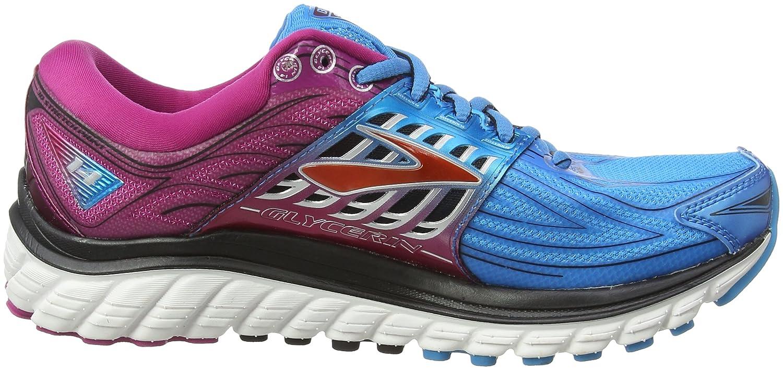 Brooks Glycerin 14, Chaussures de Running Compétition Femme, Gris (Anthracite/Azalea/Silver), 38.5 EU