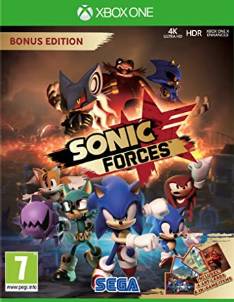 Sonic Forces - Bonus Edition: Amazon.es: Videojuegos