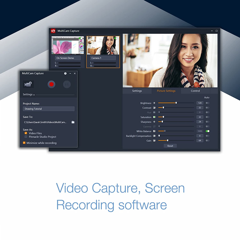 Pinnacle Studio 22 Plus - Video Editing and Screen Recorder [PC Disc]