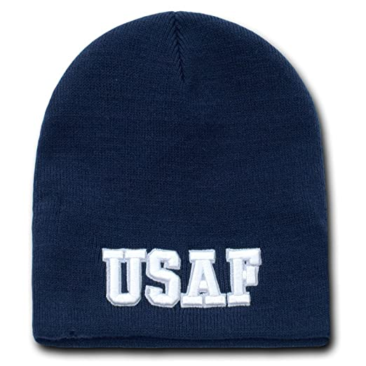 Amazon.com  USAF UNITED STATES AIR FORCE BEANIE U.S. MILITARY SKULL ... a93de2148e14