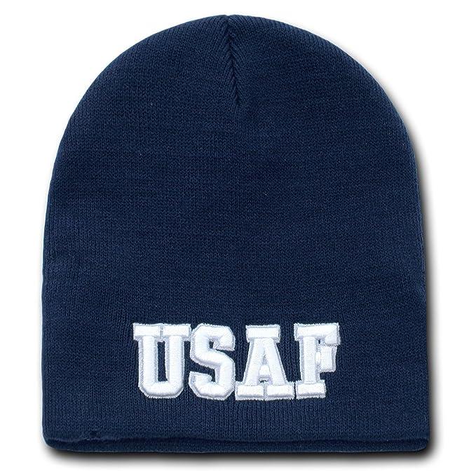 Amazon.com  USAF UNITED STATES AIR FORCE BEANIE U.S. MILITARY SKULL ... e020279bdd6