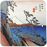 Wonderful Japan Coasters B, Fifty Three Stations Of Tokaido, Yui, Set Of 48 Pieces