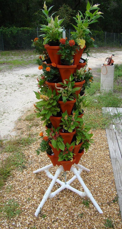 Amazon.com - Vertical Gardening Vegetable Tower - Indoor / Outdoor ...