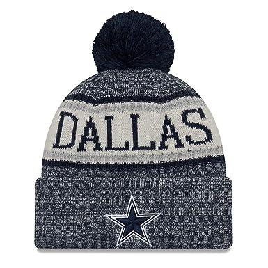the latest c854d 41ece New Era Dallas Cowboys NFL On Field 18 Sport Knit Beanie Beany Mütze
