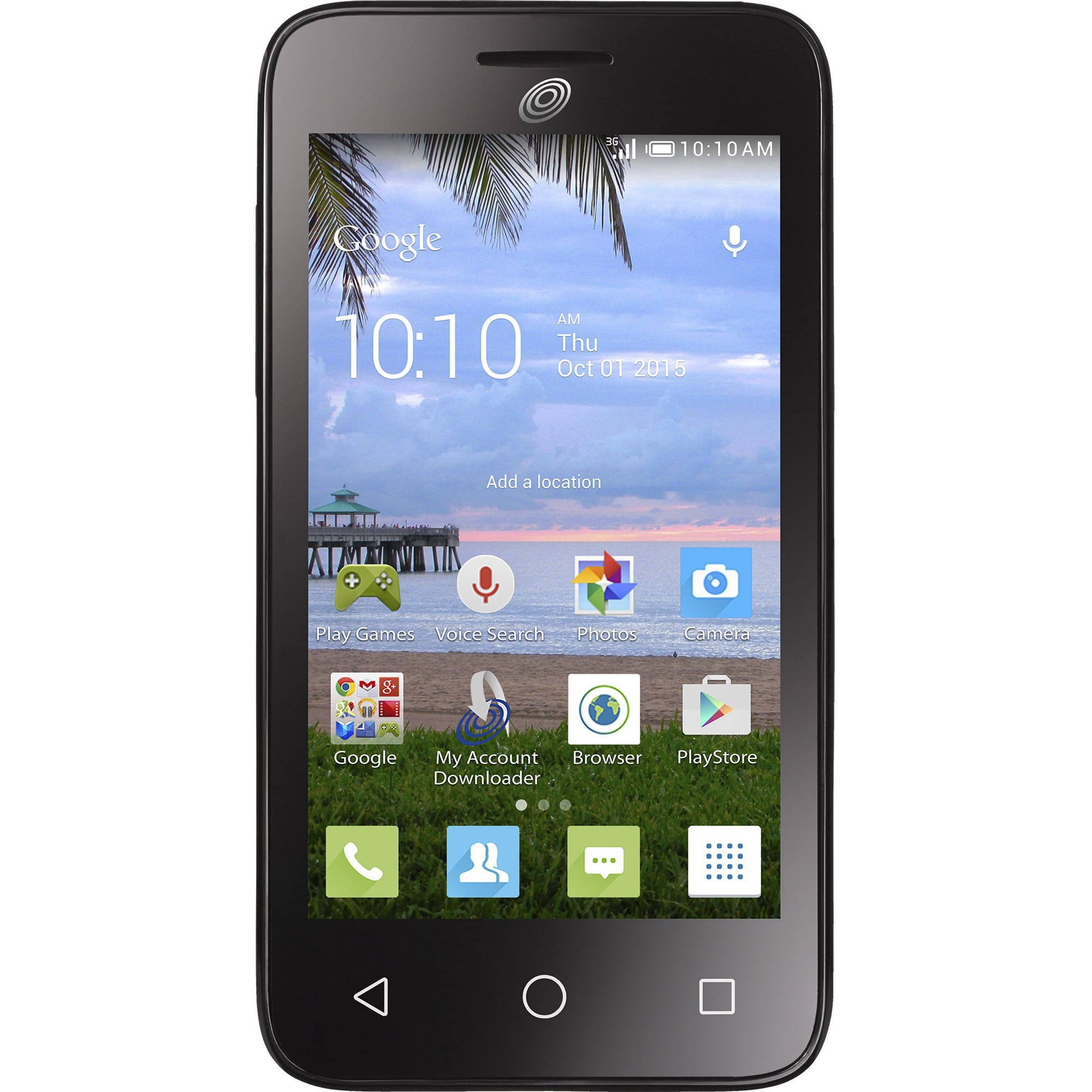 Alcatel Ideal 4G LTE Unlocked (USA Latin & Caribbean) 4060A Android 5mp 8GB Quad Core Desbloqueado by Alcatel (Image #1)