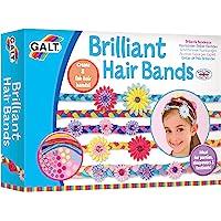 Galt 1004309 Brilliant Hair Bands, Craft Kit