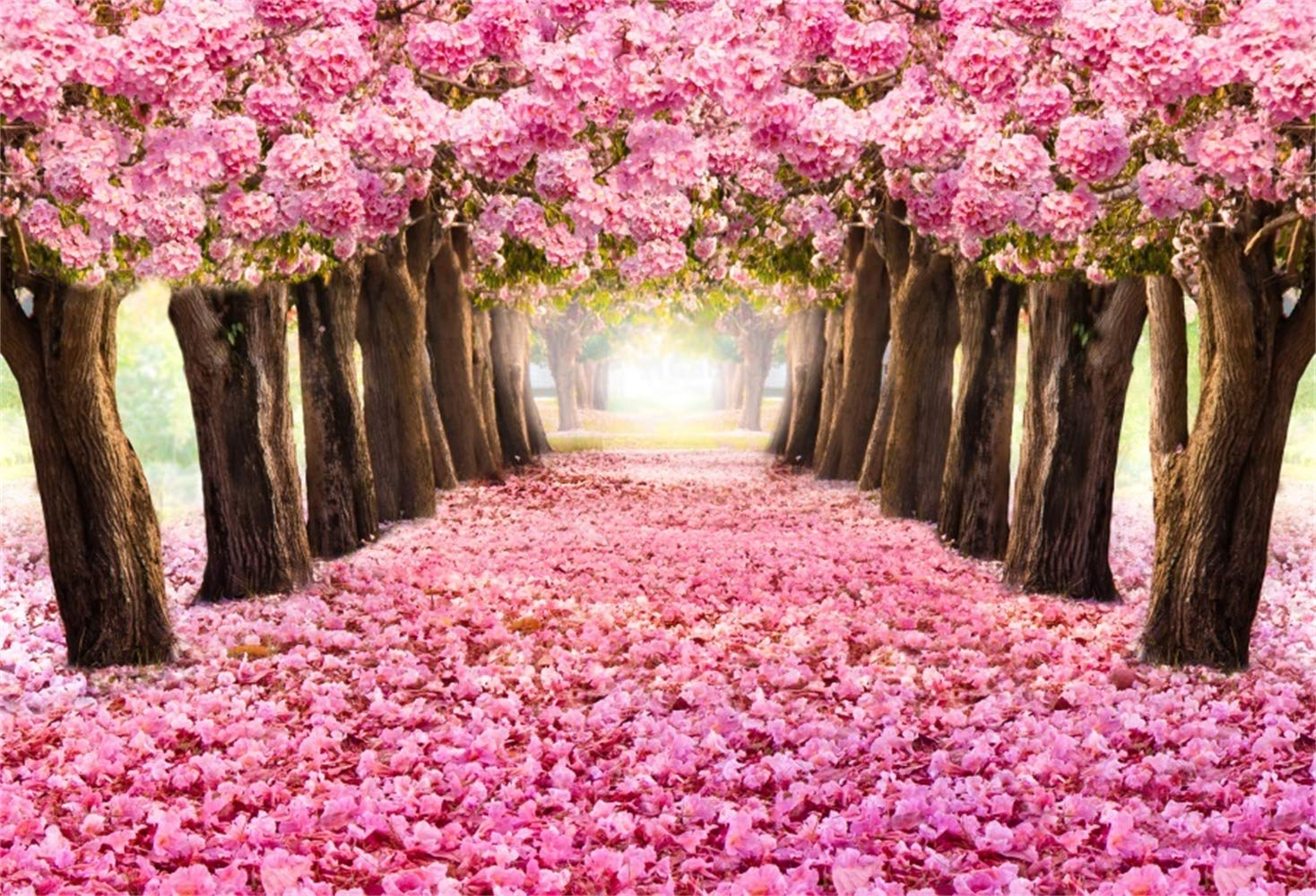 Lfeey 5x3ft Photography Background Blooming Romantic Amazon In
