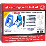 Red Star ink refill tool kit for hp 678 ink cartridge
