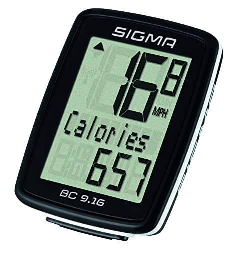 Fräscha Amazon.com : Sigma BC906 9-Function Topline Wired Bicycle DC-45