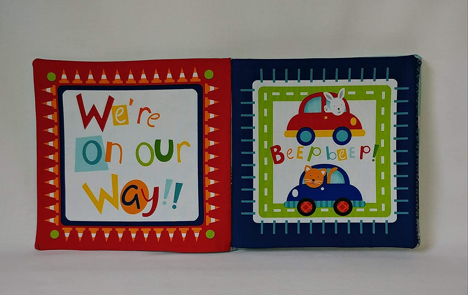 Off We Go Soft Cloth Books for Baby and Children
