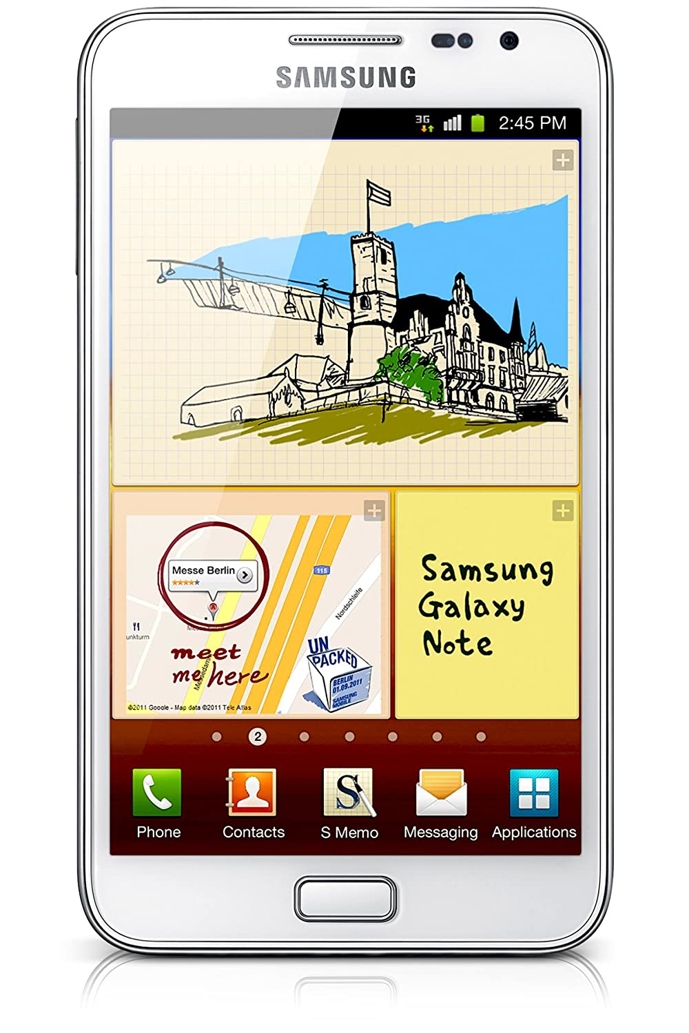 Onwijs Amazon.com: Samsung Galaxy Note GT-N7000 Unlocked Cellphone CR-64