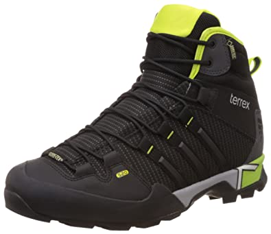 cd82b782b51544 Adidas Men s Terrex Scope High GTX Black and Green Multisport Training Shoes  - 12 UK  Buy Online at Low Prices in India - Amazon.in