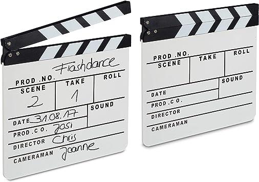 Hollywood Cinema registi Decorazione Clapper Board Film Festa Mano Scena