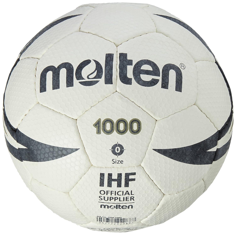 Molten, Palla da pallamano IHF Approved Club/School, Bianco (White/Black) H0X1000
