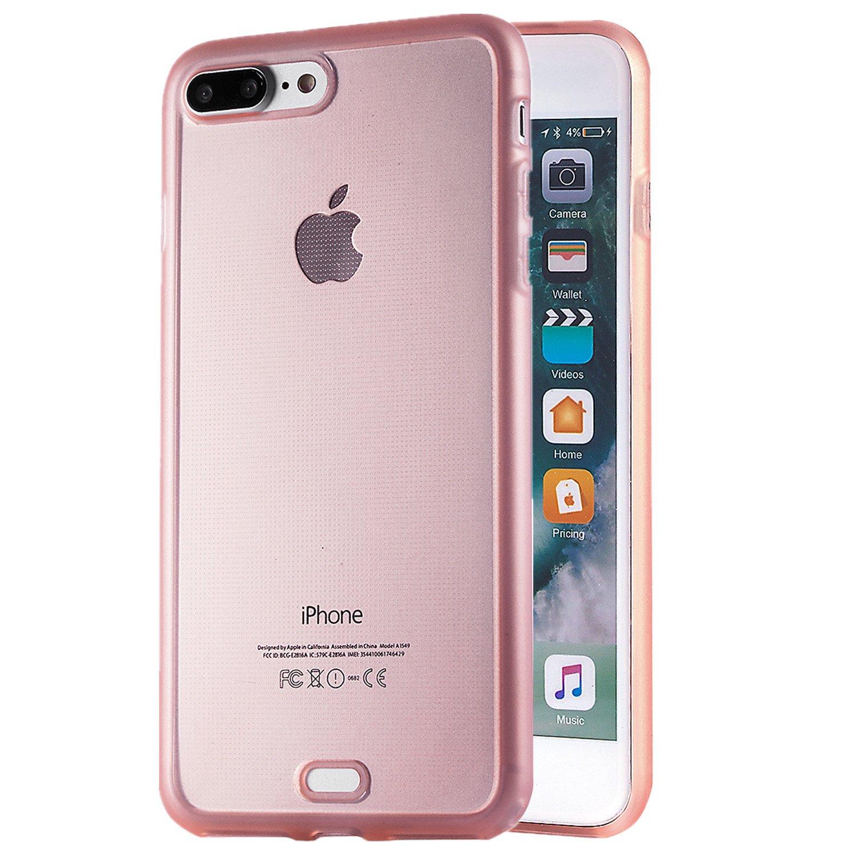 iPhone 8 Plus Case, iPhone 7 Plus Case Scratch Resistant Soft TPU Ultra  Slim Light Weight Case for Apple iPhone 8 Plus iPhone 7 Plus All Carriers  by