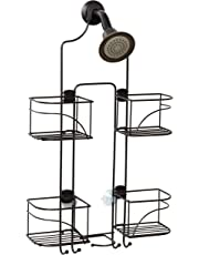 Zenith Products 7446ss Expandable Shower Caddy for Hand Held Shower or Tall Bottles
