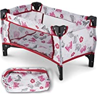 """Litti Pritti Take Along Travel Crib Pack and Play Accessory for Dolls - Perfect for 18"""" Dolls"""