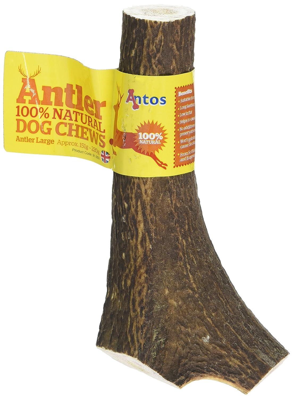 Antos Antler Natural Dog Chew (Size: Large) Antos UK