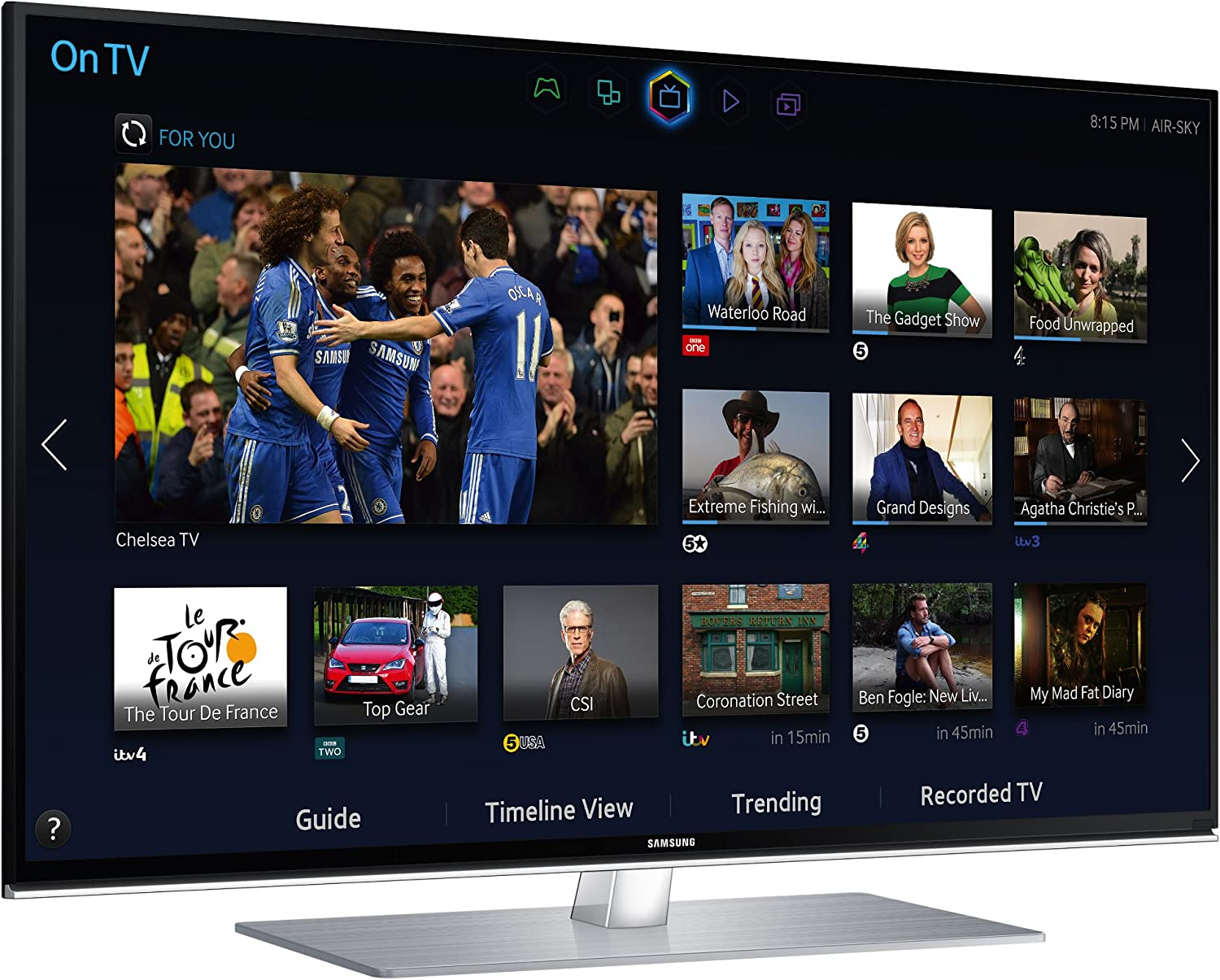 Samsung UE40H6700 40-Inch Widescreen Full HD 1080p 3D Slim LED Smart TV with Quad Core Processor and Freeview HD (Discontinued by Manufacturer) Sistema de Cine en casa - Equipo de Home Cinema: