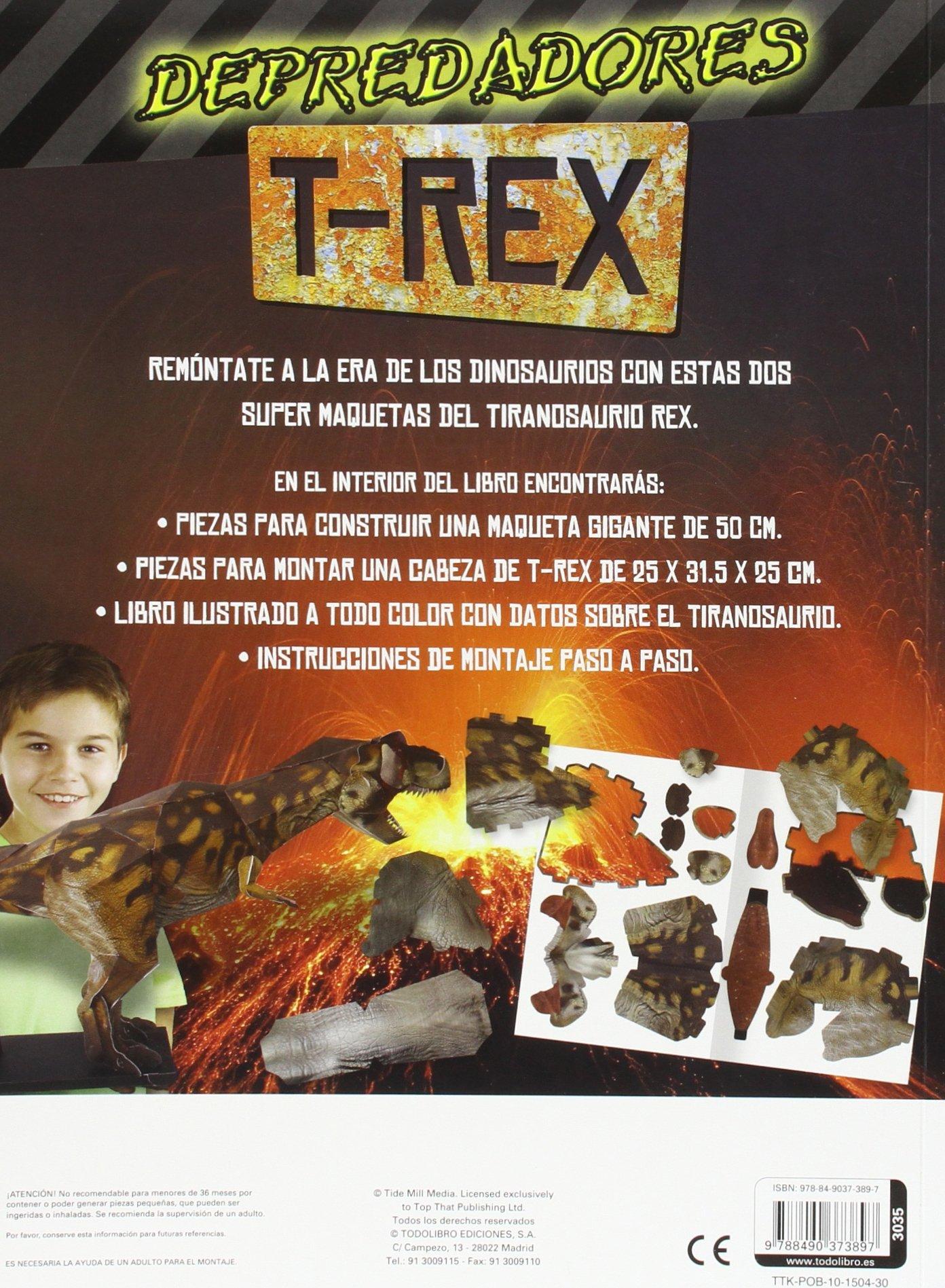 Depredadores T - Rex: AA VV: 9788490373897: Amazon.com: Books