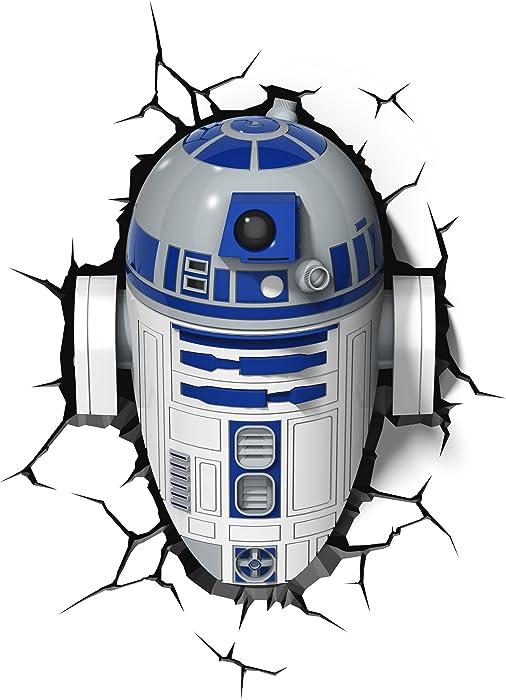 3DLightFX Star Wars R2-D2 3D Deco Light