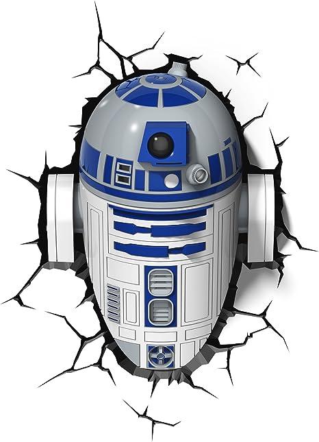 R2D2 Star Wars Lightshade Officially Licenced Large 44cm Bedroom Lightshade