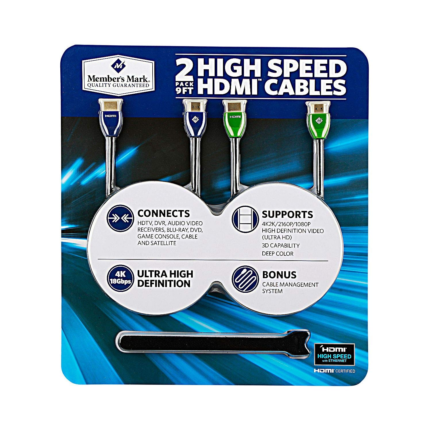 amazon com high speed hdmi cables 2 pack home audio theater rh amazon com