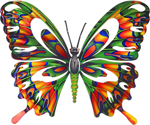 Next Innovations Wall Art Medium Multi Colored Butterfly