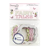 Dovecraft Premium Fairy Tales Wooden Frames, Multicolour, 1