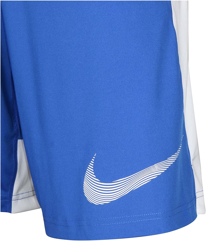 X-Large, Blue//White Nike Mens Graphic Fly Shorts