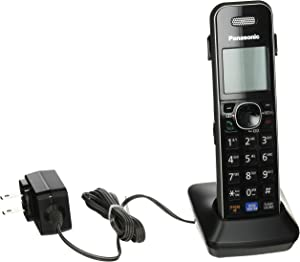 Panasonic Cordless Phone Handset Accessory Compatible with KX-TG6840 and KX-TG7870 Series Cordless Phone Systems – KX-TGA680S (Black)