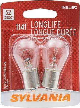 Contains 2 Bulbs SYLVANIA 2825 Long Life Miniature Bulb,