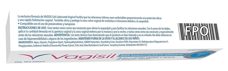 Vagisil Gel Lubricante Vaginal - 30 gr: Amazon.es: Salud y cuidado personal