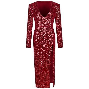 JIALELE Vestido Fiesta Mujer,De Fiesta,Vestidos Para Mujer V Vestido Vestido Collar Finaliza