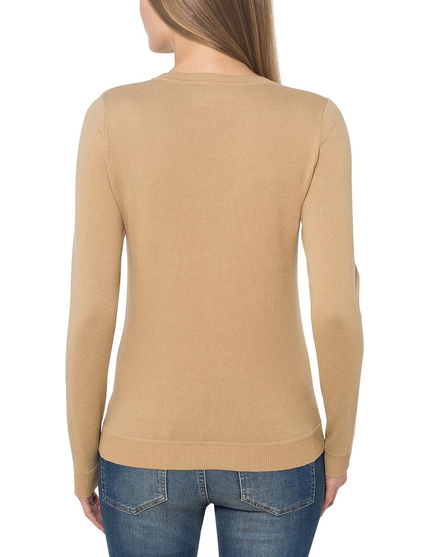 Berydale Jersey de mujer, con cuello de pico: Amazon.es ...