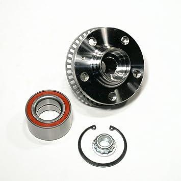 1 x Buje + 1 x Juego de rodamientos con anillo Sensor ABS izquierda o derecha delantero: Amazon.es: Coche y moto