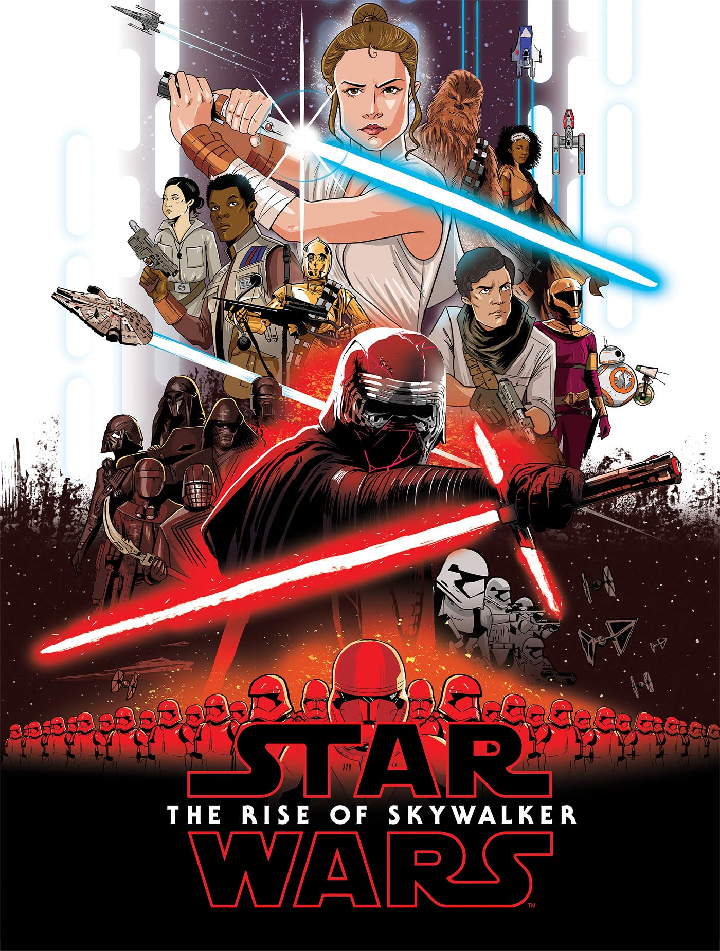 Amazon Com Star Wars The Rise Of Skywalker Graphic Novel Adaptation Star Wars Movie Adaptations 9781684056866 Ferrari Alessandro Books