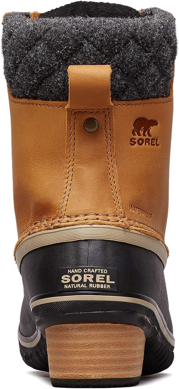 Sorel Slimpack II Lace Damen Leder Schnürstiefel Stiefel Waterproof Schuhe Schwa