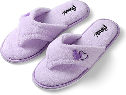 Womens Stylish Slipper Anti-Slip Slides House Flip Flop Open Toe Sandals