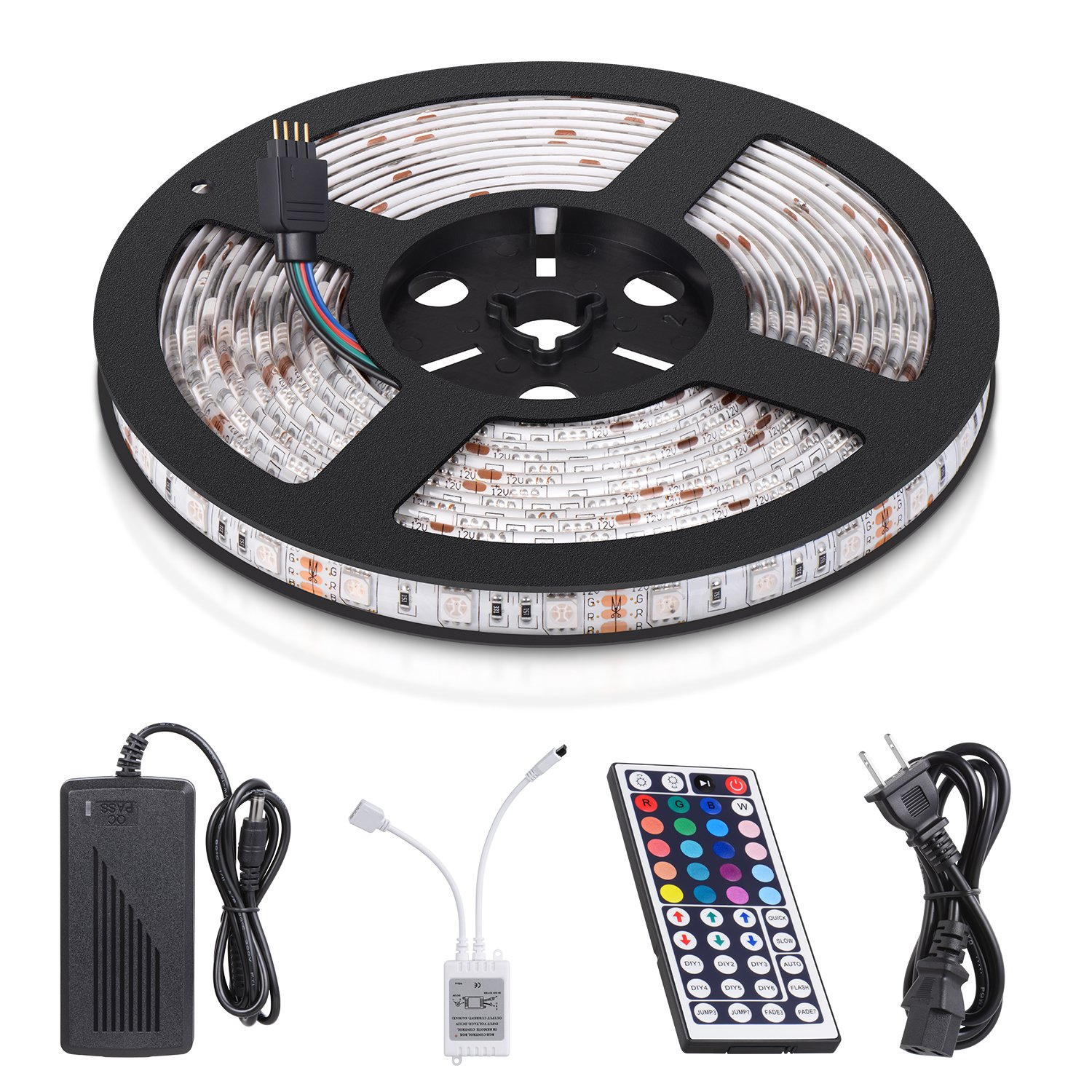 Waterproof color changing led strip or light rope just Cool things to do with led strips